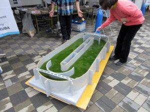 培養装置の模型